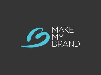 Логотип компании Make My Brand